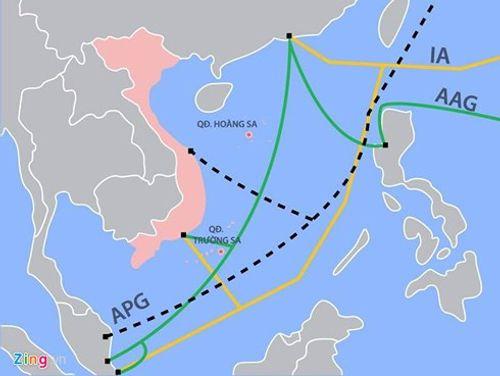 2 ngày cuối tuần, Internet từ Việt Nam đi quốc tế bị ảnh hưởng - Ảnh 1