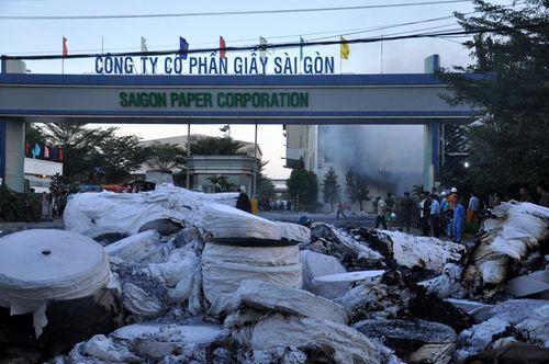 Cháy lớn tại nhà máy giấy Sài Gòn ở Vũng Tàu - Ảnh 3