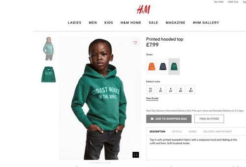 H&M xin lỗi vì hình ảnh quảng cáo mang thông điệp phản cảm - Ảnh 1