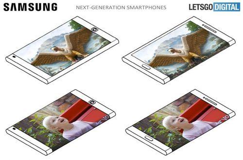 Điện thoại Samsung trong tương lai sẽ có màn hình ở cả mặt trước và sau - Ảnh 1