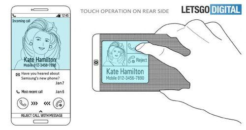 Điện thoại Samsung trong tương lai sẽ có màn hình ở cả mặt trước và sau - Ảnh 2