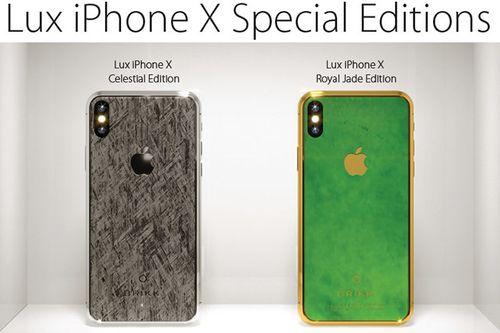 Xuất hiện 'siêu phẩm' iPhone Xs  Royal Jade  có giá 70 tỷ đồng  - Ảnh 1