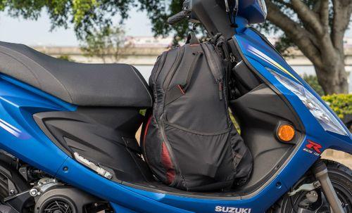 Xe tay ga Suzuki đẹp long lanh giá chỉ 28 triệu đồng  - Ảnh 2