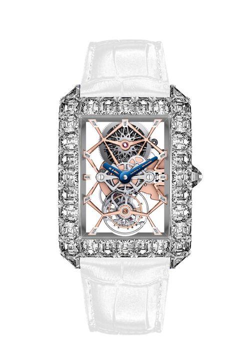 Cận cảnh chiếc đồng hồ nạm 127,45 carat kim cương  - Ảnh 2