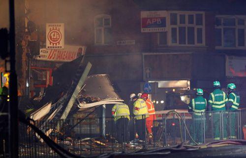 Anh: Nổ lớn tại thành phố Leicester - Ảnh 1