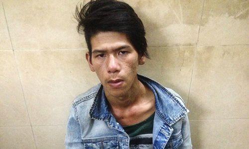 Tóm gọn đối tượng cướp túi xách giữa trung tâm Sài Gòn - Ảnh 1