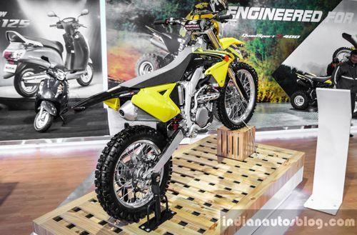 Mẫu mô tô Suzuki DR-Z70 2018 giá 42 triệu đồng sắp sửa trình làng - Ảnh 1