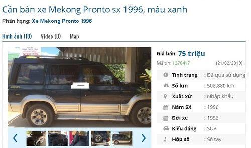 Loạt ô tô cũ chính hãng giá chỉ 75 triệu đồng đang rao bán tràn lan - Ảnh 1