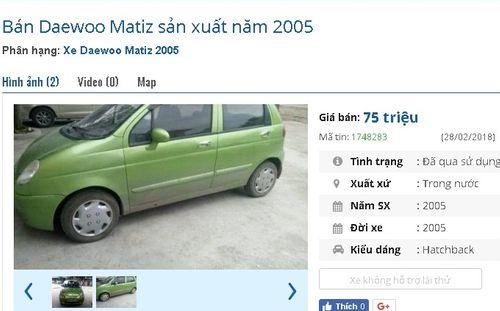 Loạt ô tô cũ chính hãng giá chỉ 75 triệu đồng đang rao bán tràn lan - Ảnh 2