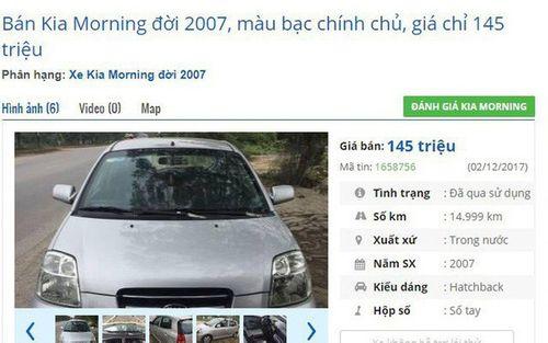 Loạt ô tô cũ chính hãng giá chỉ 75 triệu đồng đang rao bán tràn lan - Ảnh 5