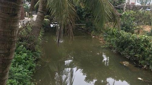 Hai học sinh chết đuối thương tâm dưới mương nước ở Hải Phòng - Ảnh 1