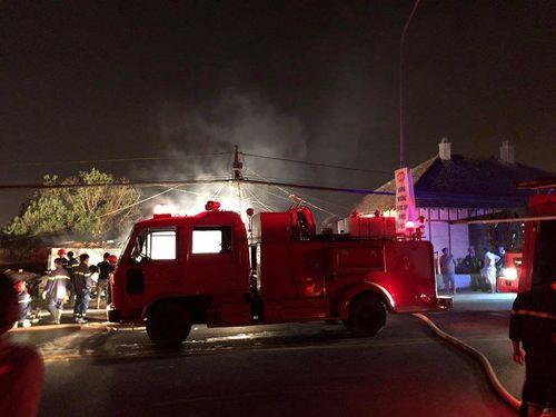 HIện trường vụ cháy biệt thự ở Đà Lạt khiến 5 ngươi thiệt mạng - Ảnh 4