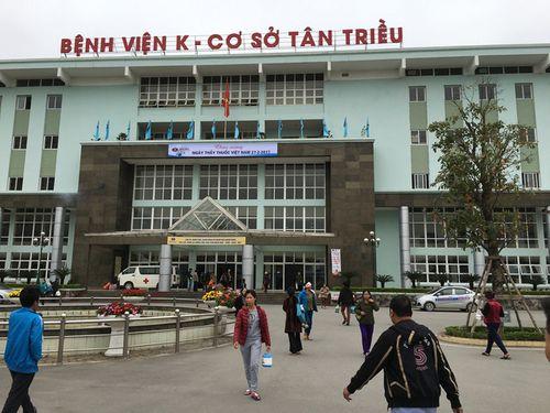 Bảo vệ Bệnh viện K đánh người nhà bệnh nhân nhập viện - Ảnh 1