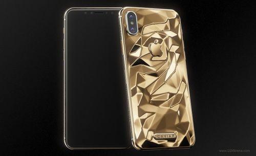 Cận cảnh iPhone X dát vàng giá gần 5000 USD - Ảnh 1