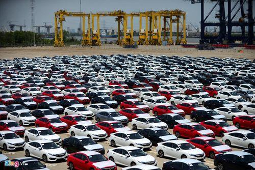 Hàng nghìn ô tô Honda miễn thuế 0% cập cảng TP.HCM  - Ảnh 1