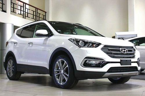 """Mới đầu năm, Hyundai Santa Fe """"tung chiêu"""" giảm mạnh 212 triệu đồng - Ảnh 1"""