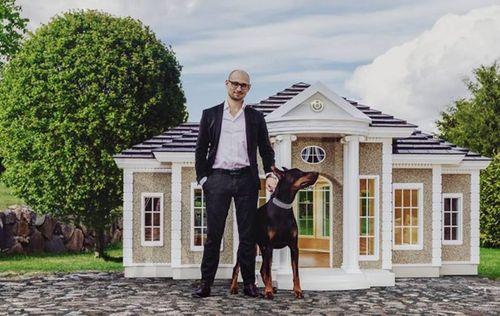 Choáng ngợp với biệt thự cho cún cưng có giá lên tới 4,5 tỷ đồng - Ảnh 1