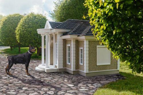 Choáng ngợp với biệt thự cho cún cưng có giá lên tới 4,5 tỷ đồng - Ảnh 2