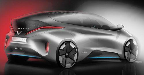 VINFAST công bố 17 mẫu ô tô điện đẹp long lanh - Ảnh 10