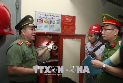 Hà Nội: Phát hiện nhiều sai phạm khi kiểm tra PCCC tại một số chung cư  - Ảnh 1