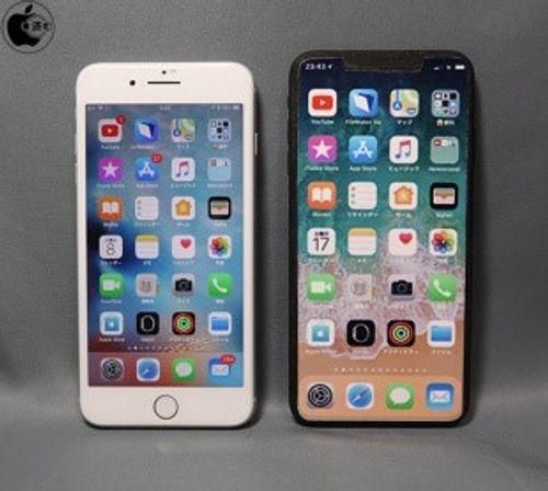 Lộ diện iPhone X Plus, kích thước bằng iPhone 8 Plus - Ảnh 1