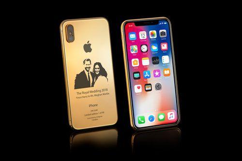 Cận cảnh iPhone X phiên bản 'đám cưới Hoàng gia' giá gần 90 triệu đồng - Ảnh 1