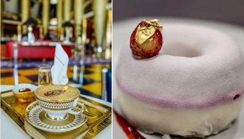 Những món ăn chứa vàng phục vụ cho giới siêu giàu trong nhà hàng ở Dubai  - Ảnh 1