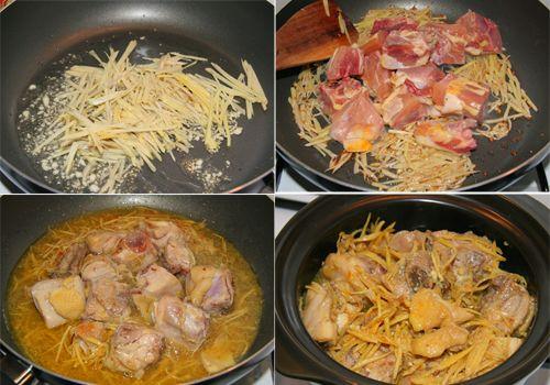 Nấu gà kho gừng, đậm đà thơm ngon cho ngày mát trời - Ảnh 3