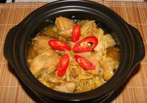 Nấu gà kho gừng, đậm đà thơm ngon cho ngày mát trời - Ảnh 4