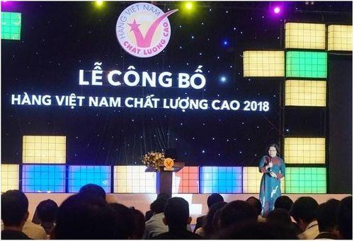 """Taka liên tiếp đạt """"Chứng nhận hàng Việt Nam chất lượng cao 2018"""" - Ảnh 1"""