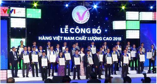 """Taka liên tiếp đạt """"Chứng nhận hàng Việt Nam chất lượng cao 2018"""" - Ảnh 2"""