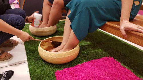 Trải nghiệm với muối thảo dược Bảo Nhiên tại AEON MALL Tân Phú - Ảnh 4