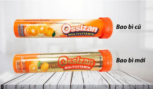 Viên bổ sủi Ossizan Multivitamin đổi mới diện mạo - Nâng tầm giá trị - Ảnh 1
