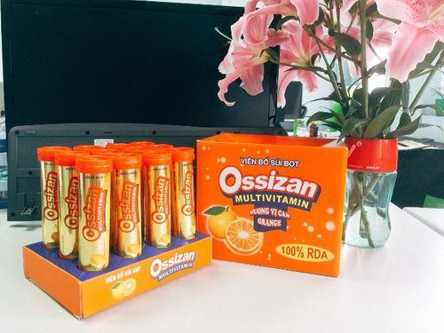 Viên bổ sủi Ossizan Multivitamin đổi mới diện mạo - Nâng tầm giá trị - Ảnh 4