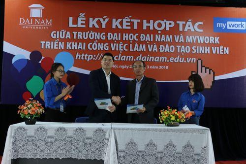 Trường Đại Học Đại Nam hợp tác triển khai giải pháp Myuni với Mywork - Ảnh 3
