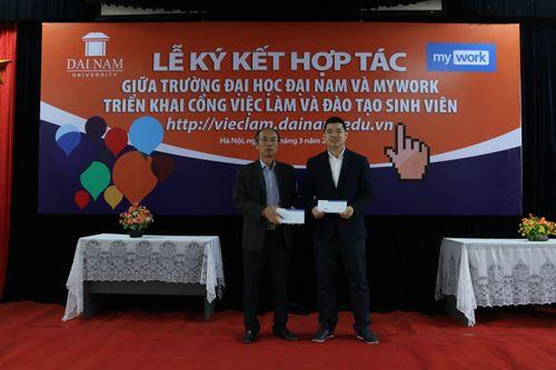Trường Đại Học Đại Nam hợp tác triển khai giải pháp Myuni với Mywork - Ảnh 4