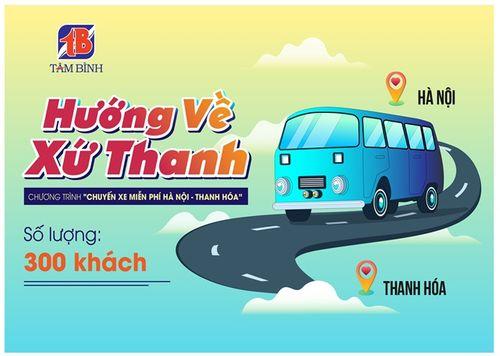Miễn phí xe từ Hà Nội về Thanh Hóa dịp lễ 30/4 và 1/5 - Ảnh 1