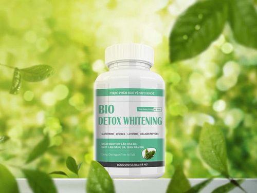 Bio Detox Whitening gia nhập thị trường viên uống trắng da an toàn - Ảnh 1