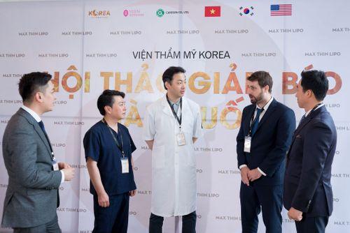 Dàn chuyên gia giàu kinh nghiệm có mặt tại hội thảo giảm béo Hàn Quốc - Ảnh 1