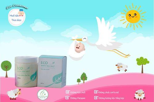 Muối tắm thảo dược Eco: Làm sạch, kháng khuẩn, an toàn tuyệt đối - Ảnh 1