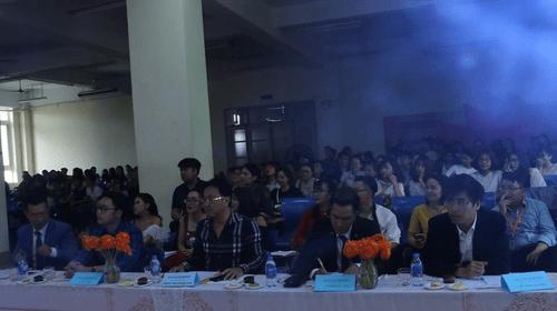 Sinh viên Đại học Đại Nam tranh giải cuộc thi tài năng MC - Ảnh 2