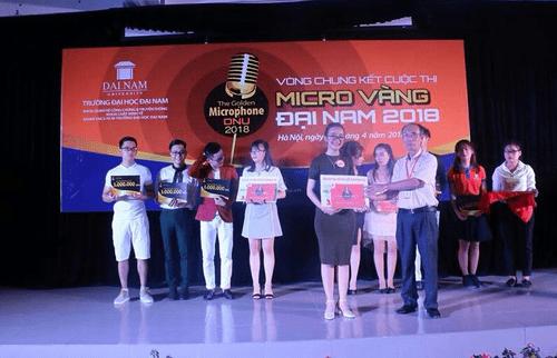 Sinh viên Đại học Đại Nam tranh giải cuộc thi tài năng MC - Ảnh 7