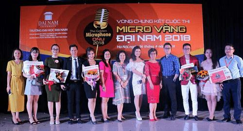 Sinh viên Đại học Đại Nam tranh giải cuộc thi tài năng MC - Ảnh 9