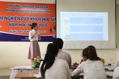Hội nghị nghiên cứu khoa học khoa Quản trị Kinh doanh trường Đại Học Đại Nam - Ảnh 6
