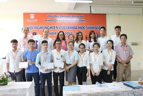 Hội nghị nghiên cứu khoa học khoa Quản trị Kinh doanh trường Đại Học Đại Nam - Ảnh 7