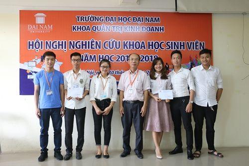 Hội nghị nghiên cứu khoa học khoa Quản trị Kinh doanh trường Đại Học Đại Nam - Ảnh 8