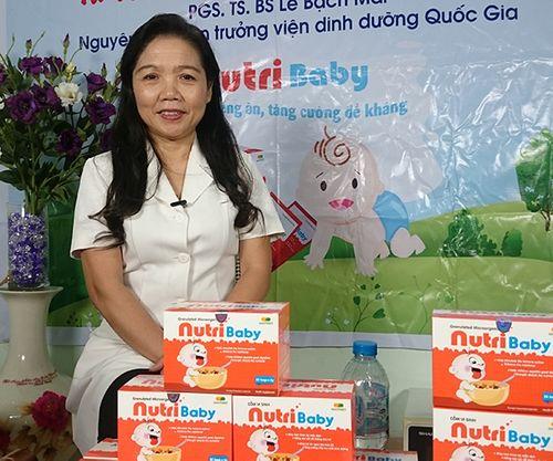 PGS.TS.BS Lê Bạch Mai giới thiệu đến hàng nghìn mẹ Việt giải pháp trị biếng ăn cho trẻ chỉ với cốm NutriBaby - Ảnh 1