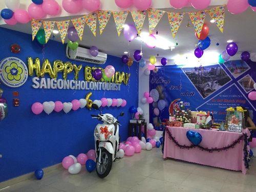 Mừng sinh nhật lần 6, Sài Gòn Chợ Lớn Tourist tri ân khách hàng: Trúng xe Vision - Ảnh 1