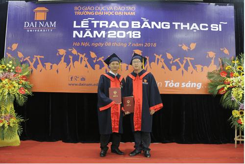 Đại học Đại Nam: Những cái nhất trong lễ trao bằng tốt nghiệp cao học khóa 4 - Ảnh 11