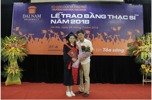 Đại học Đại Nam: Những cái nhất trong lễ trao bằng tốt nghiệp cao học khóa 4 - Ảnh 14